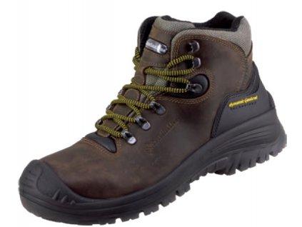 členková kožená bezpečnostná obuv S3 CanadainLine Stelvio 787339a69f9