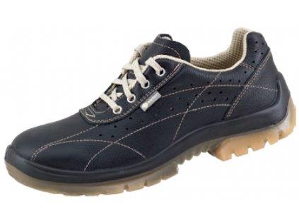 Bezpečnostná perforovaná obuv v prevedení poltopánok s oceľovou špičkou značky Canadian Line s obchodným názvom Cupra
