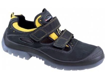 Bezpečnostne sandále s oceľovou špičkou značky CanadianLine model DUNE S1P