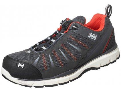Bezpečnostná obuv športového vzhľadu s BOA zapínaním Helly Hansen model Smestad Boa orange 1