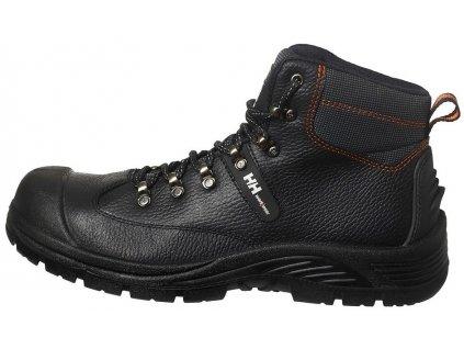Podrobný popis bezpečnostnej členkovej obuvi S3 CanadianLine AkerMID Black 1