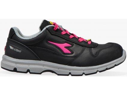 Dámska pracovná obuv športového vzhľadu s bezpečnostnou špičkou Diadora RUN low woman
