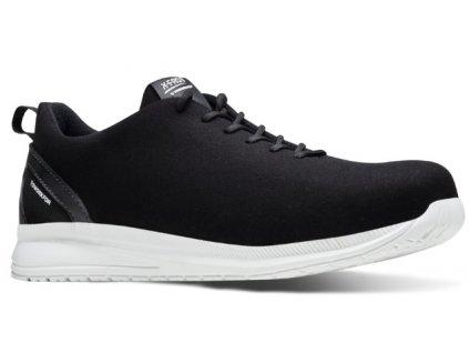 super ľahká pracovná obuv čierej farby X