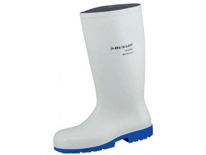 pracovné biele čižmy pre potravinásky priemysel bez oceľovej špičky DUNLOP Acifort Classic B180331