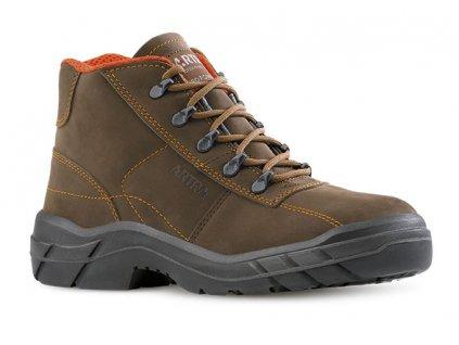 Členková bezpečnostná obuv s oceľovou špičkou  ARMINIUS 946 4260 S2 SRC