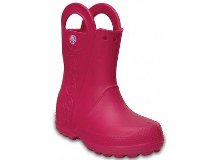dievčenské gumáčky ružové crocs 4