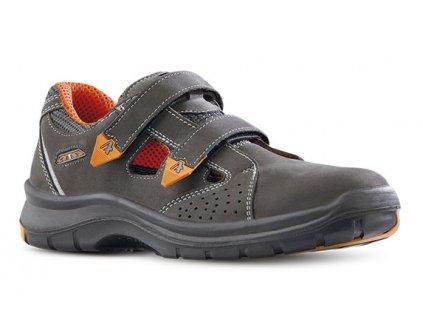 Pracovné sandále bez oceľovej špičky ARYS 603 2560R O1 FO SRC