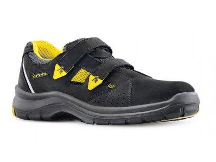 Bezpečnostné sandále s oceľovou špičkou ARYS 603 6160R S1 SRC