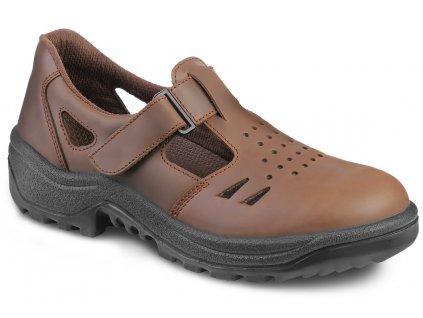 Pracovné sandále bez oceľovej špičky ARMEN 030900 4060 O1 FO FARMER