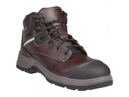 Členková kožená bezpečnostná obuv panoply FRONTERA S3