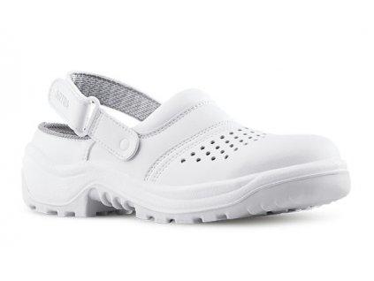 Biele bezpečnostné sandále s oceľovou špičkou ARNO 901 AIR 1010 SB A E  FO SRC