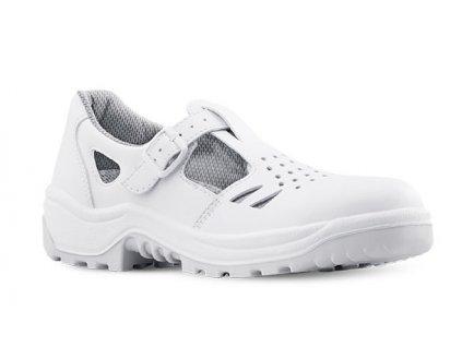 Biele pracovné sandále s oceľovou špičkou ARMEN 900 CLIP 1010 S1 SRC