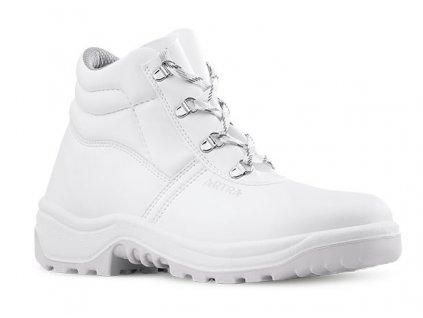 Biela členková pracovná obuv výrobcu ARTRA v modele ARAUKAN 940 1010 O2 FO SRC