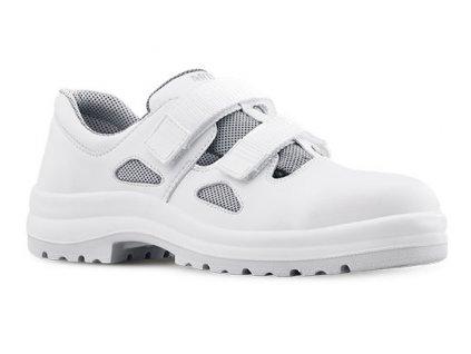 Biele bezpečnostné sandále s komzitnou špičkou ARIES 800 1010 S1 SRC