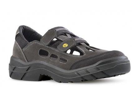 Antistatická pracovná bezpečnostná obuv s oceľovou špičkou ARJUN 903 2560 S1 ESD  SRC