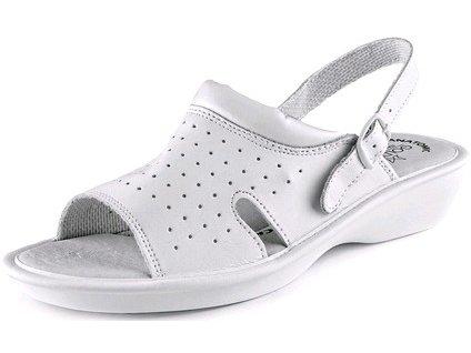 Dámske sandále CXS LIME, biele