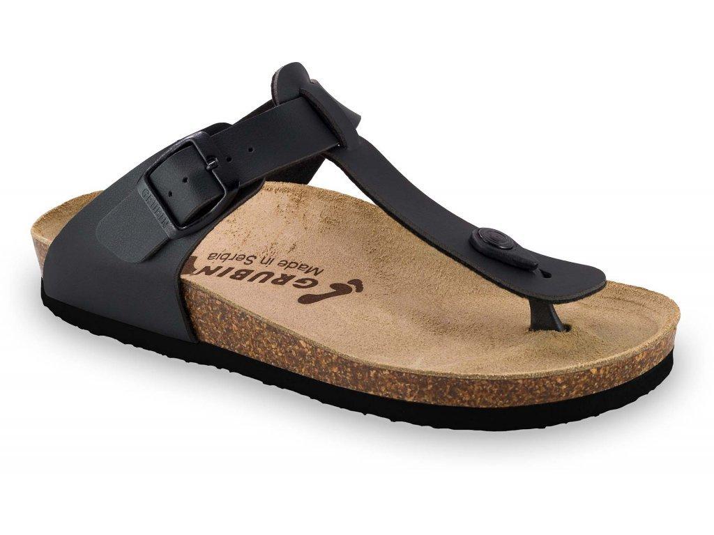 Grubin zdravotní dámská obuv Sayonara žabky černá 1023640