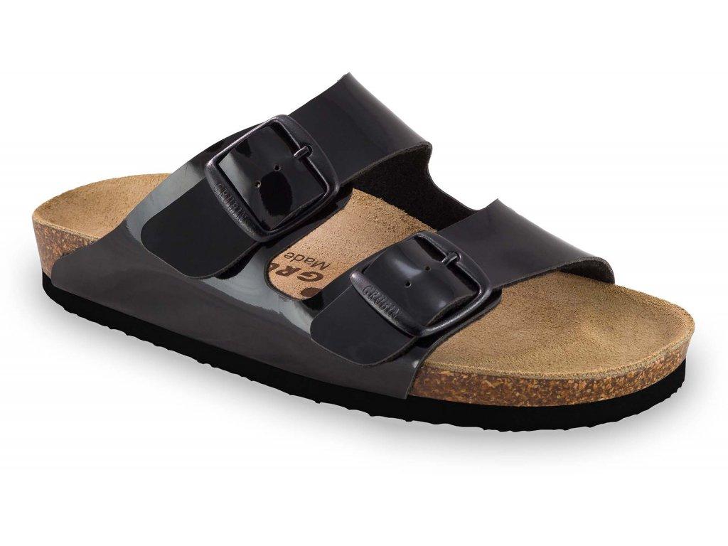Grubin zdravotní obuv ARIZONA dámské pantofle černé 0033620