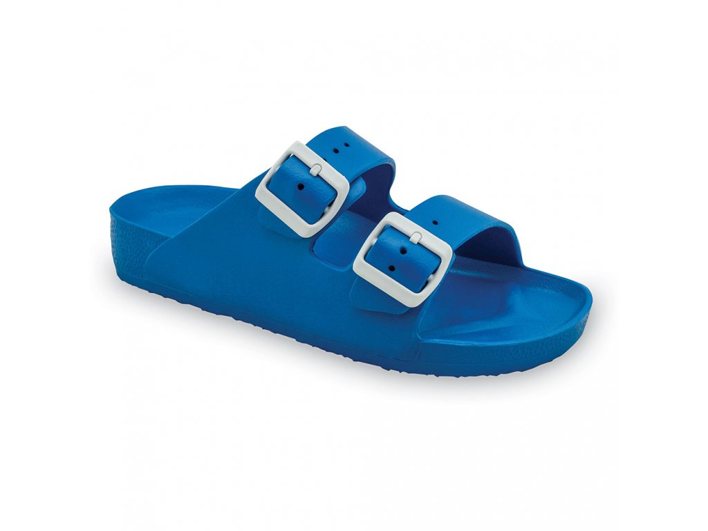 Grubin pantofle Kairo light pánská syntetická obuv modrá 3234300