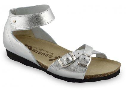 Grubin zdravotní dámská kožená obuv Nicole sandále 2103670