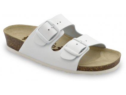 Grubin zdravotní kožená obuv Arizona bílá 0033550