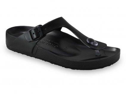 Grubin pantofle Takoma light syntetická dámská obuv černá 3933700