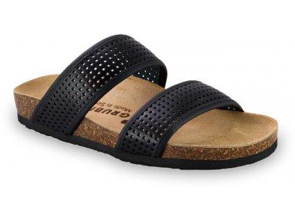 Grubin zdravotní kožená obuv Marta černá  2933650