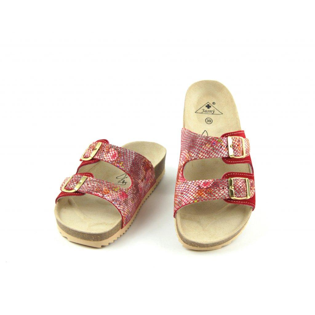 Pantofle CLASSIC essential red, 2002-PR2-ER