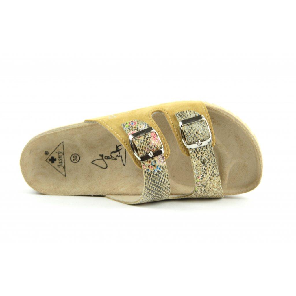 Pantofle CLASSIC essential beige, 2002-PR2-EB