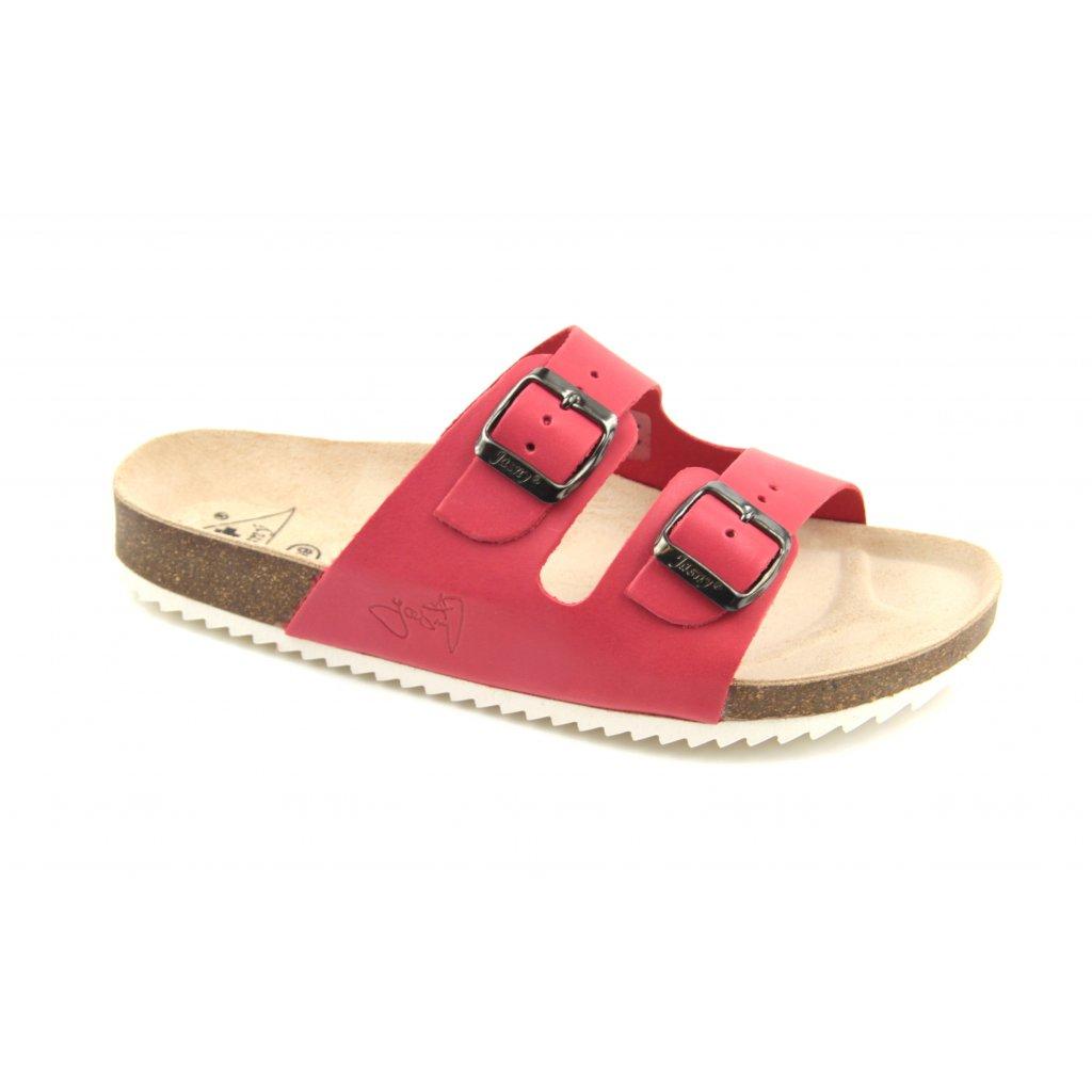 Pantofle CLASSIC červené, 2002-PR2-4