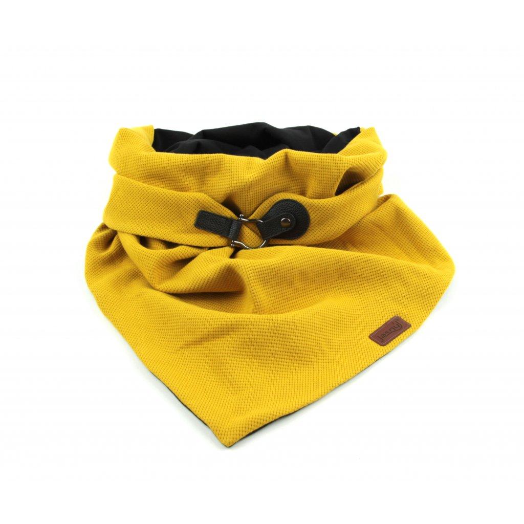 šátek se zapínáním Blackgold1