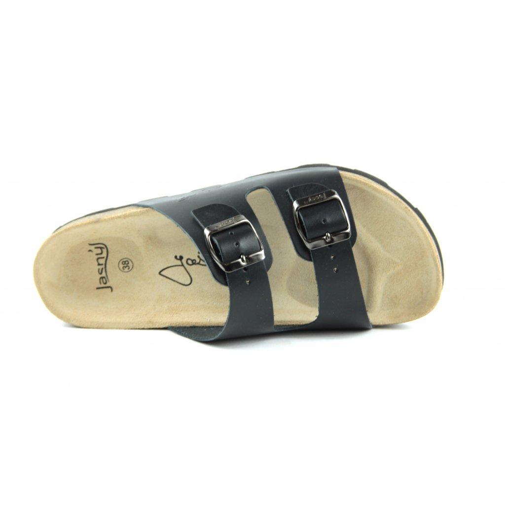 Pantofle CLASSIC černé, 2002-PR2-3