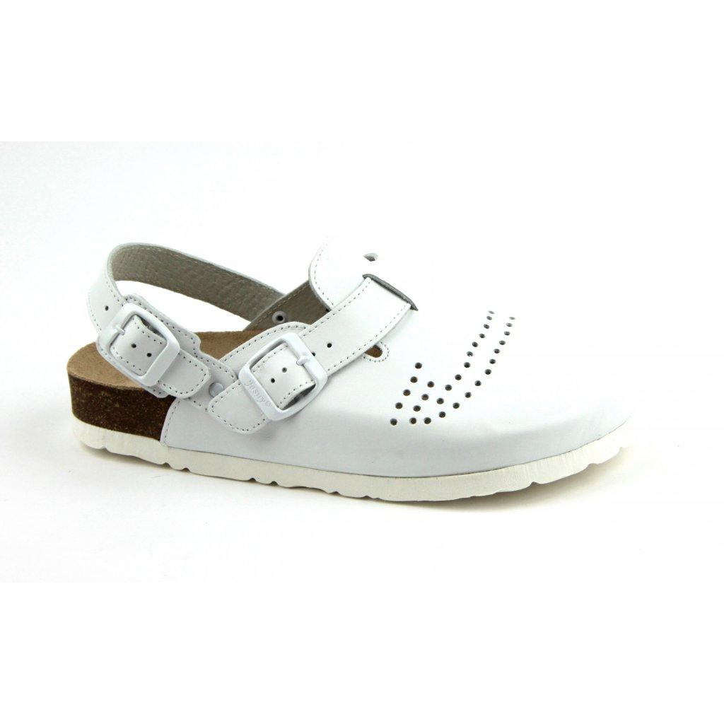 Sandály TRENTO bílé, 2002BP-T-SR-1