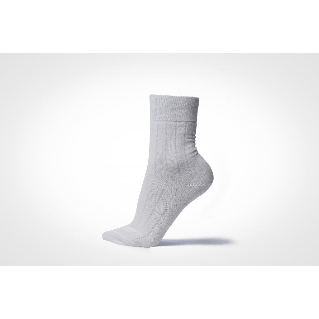 ponožky VIKI bílé (Velikost 39-42)
