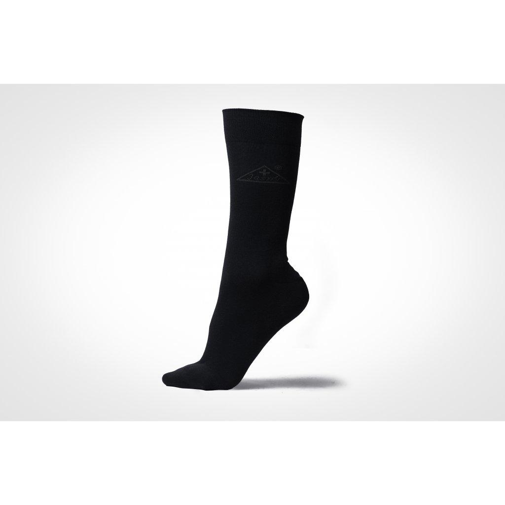 ponožky LUX černé (Velikost 45-47)