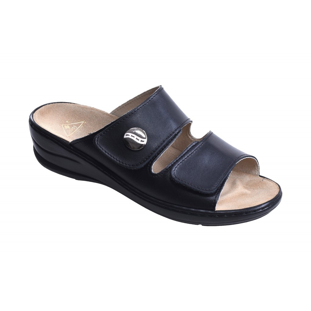 pantofle MC/Miranda-černá (Velikost Vel. 41)