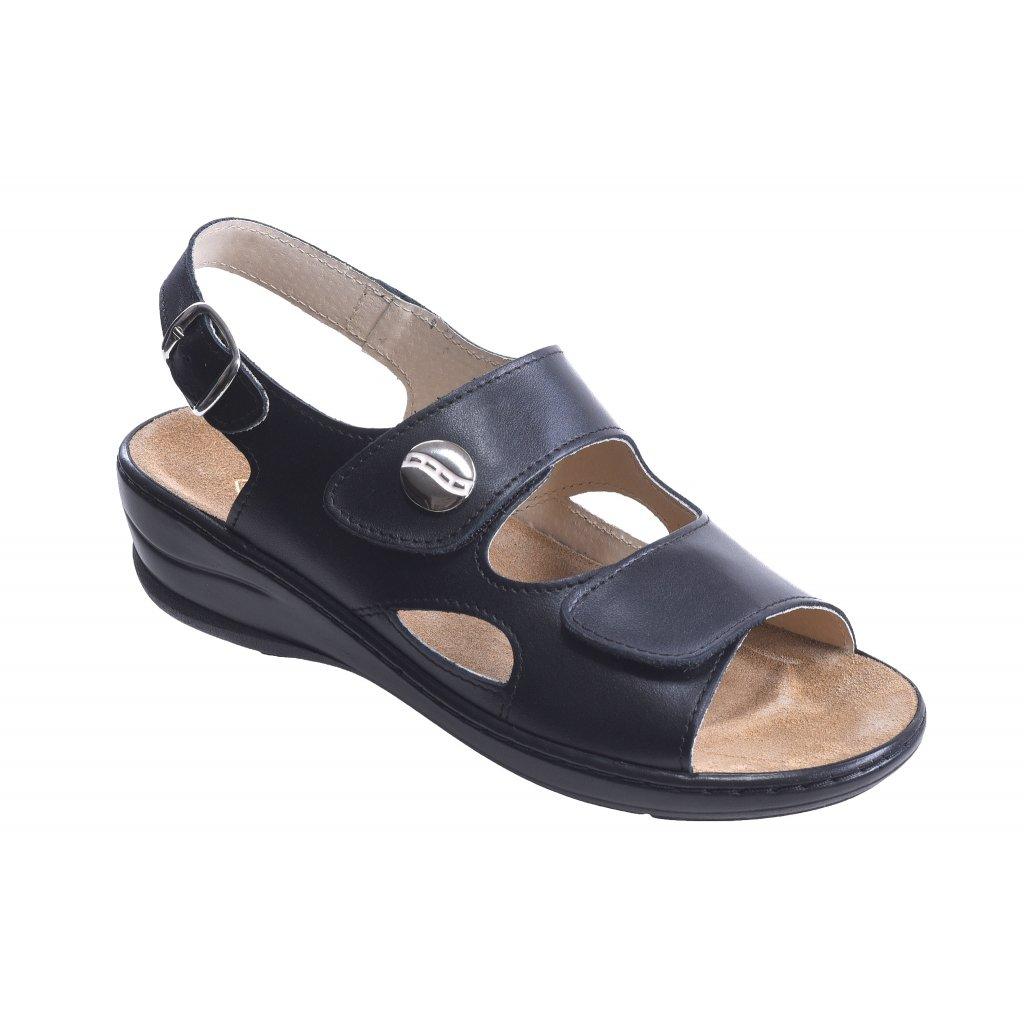 sandály MC/Olivia-černá (Velikost Vel. 42)