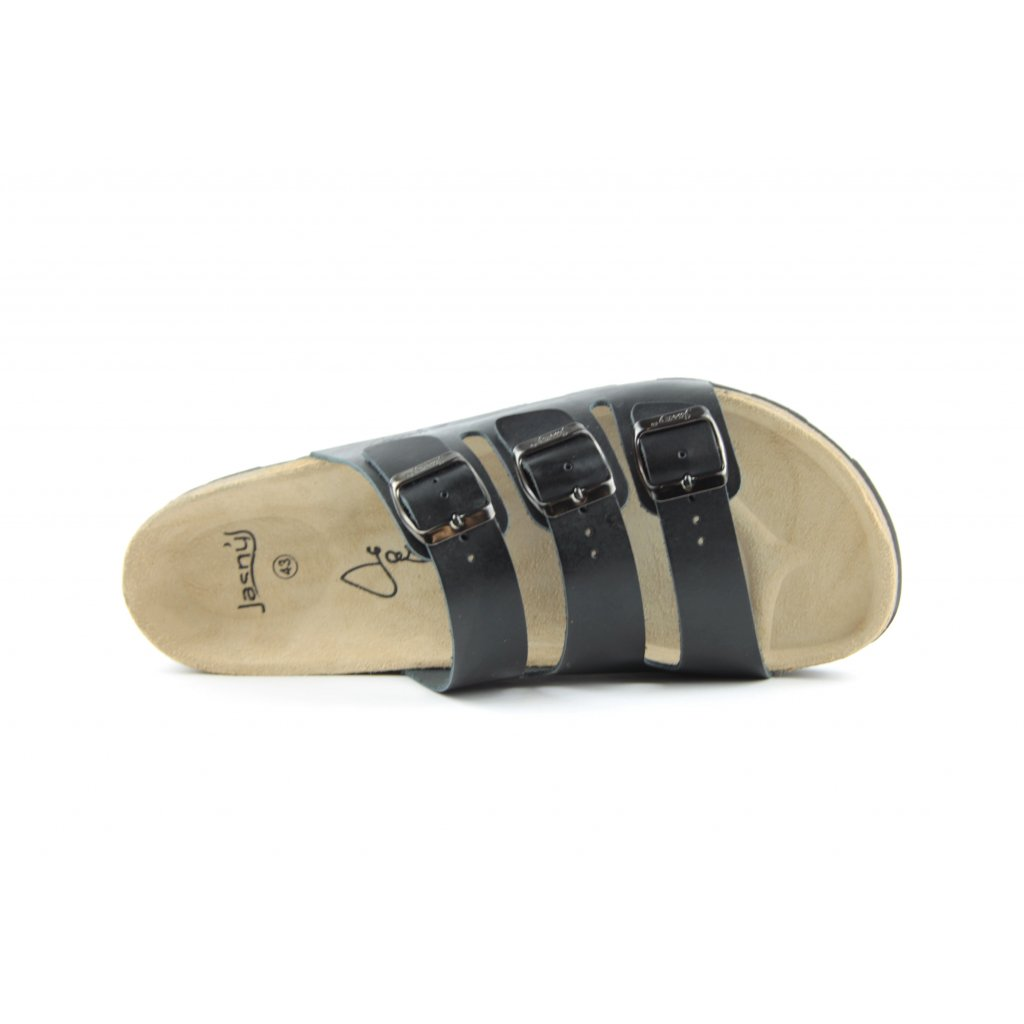 Pantofle CLASSIC černé, 2002-PR3-3
