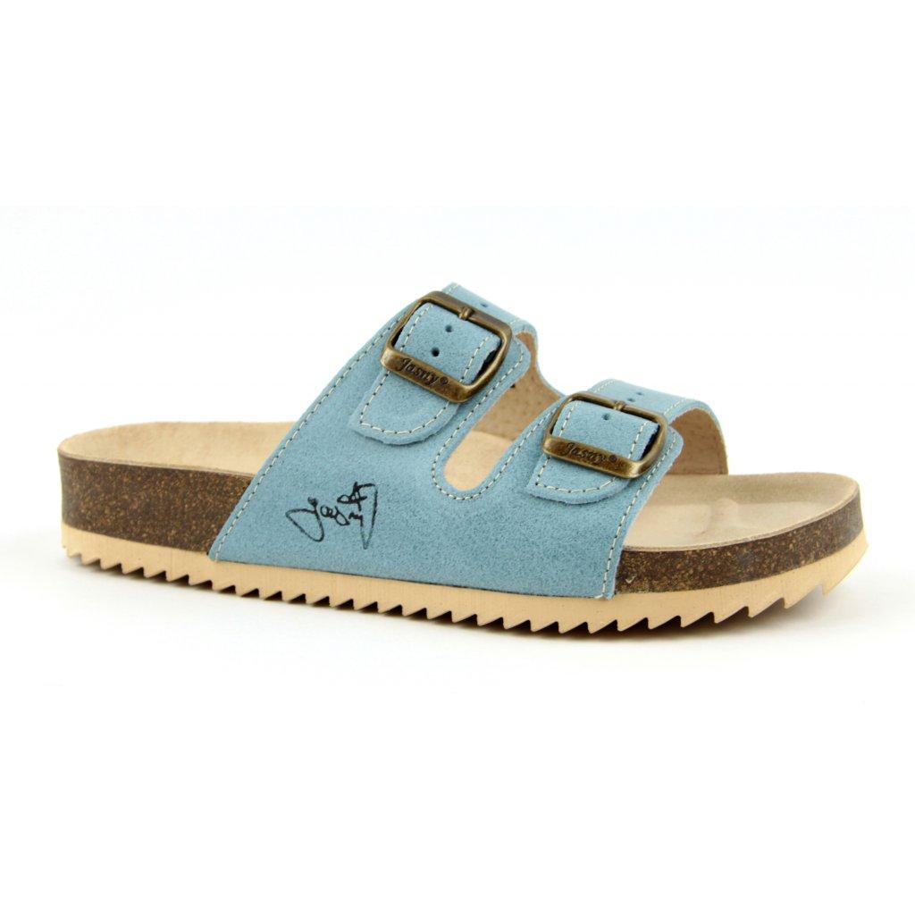 Pantofle CLASSIC modré, 2002-PR2