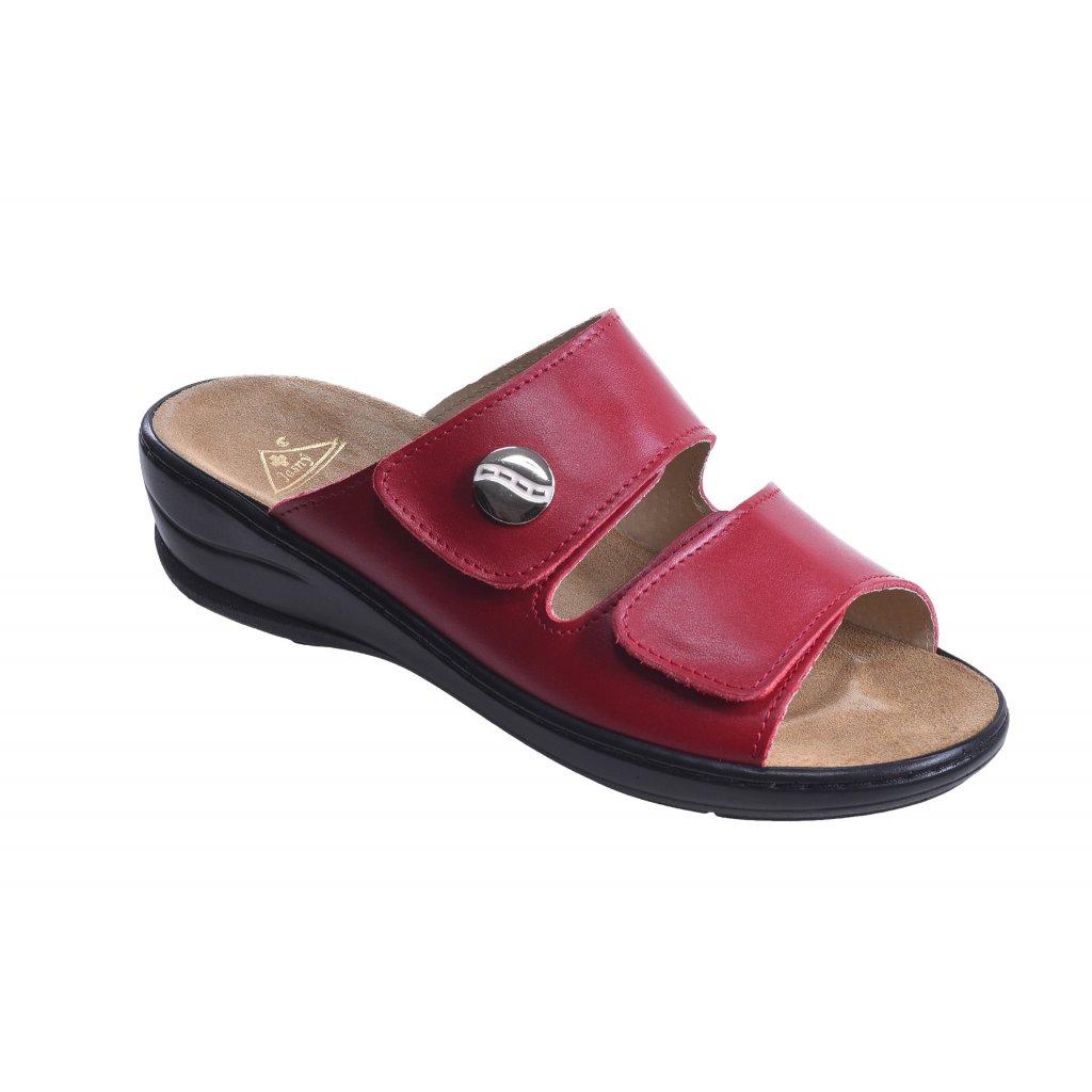 pantofle MC/Miranda červená (Velikost Vel. 36)