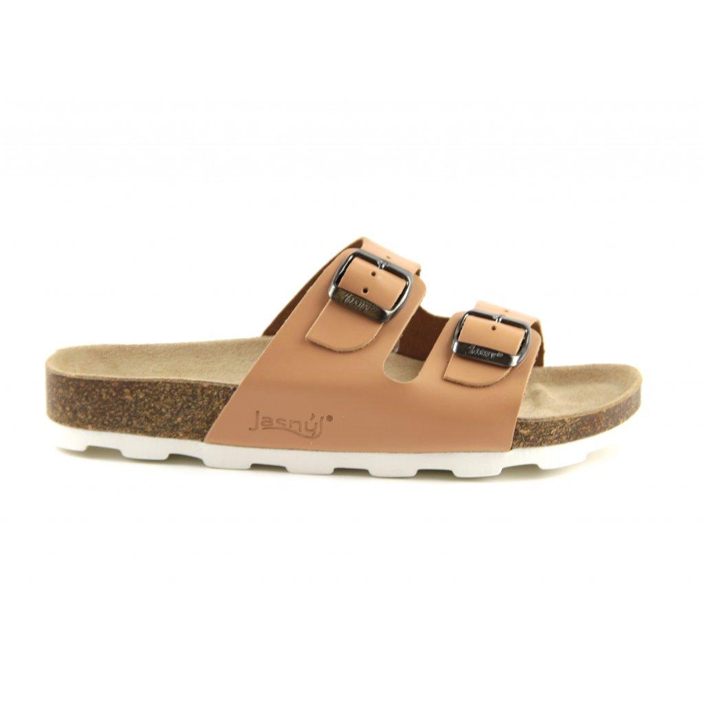 pantofle 2002/PR2 béžové (Velikost Vel. 43)