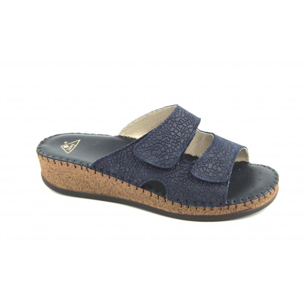 Pantofle EMANUELLE blue, RŠJ473