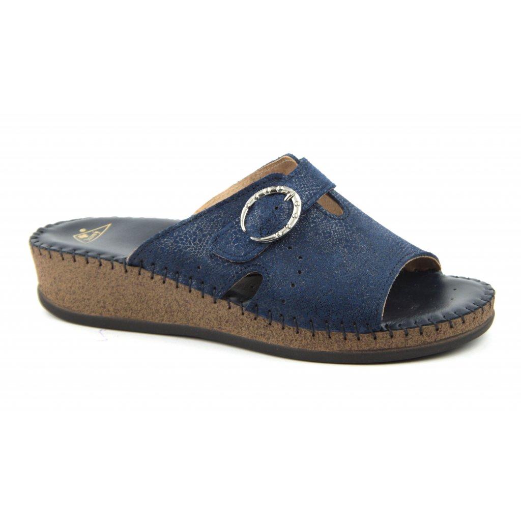 Pantofle EMANUELLE blue, RŠJ702