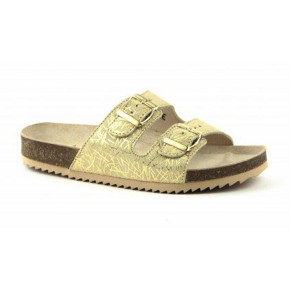 Pantofle CLASSIC fiesta zlaté, 2002-PR2-FZ