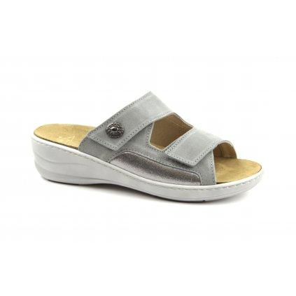 Pantofle MC-HALLUX šedé