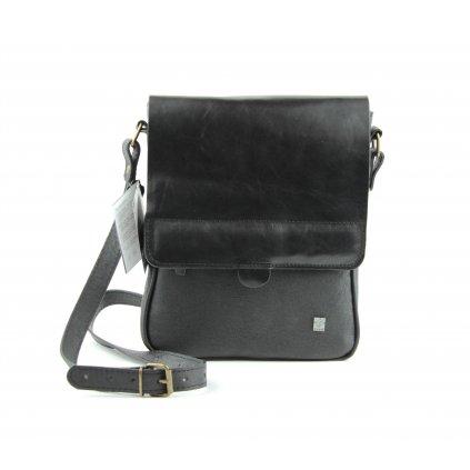 Pánská taška přes rameno, 580114 černá