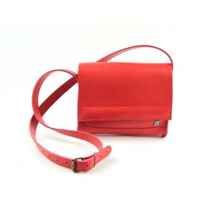 kabelka 516 červená1