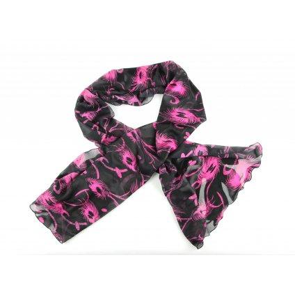 šála pink charm1