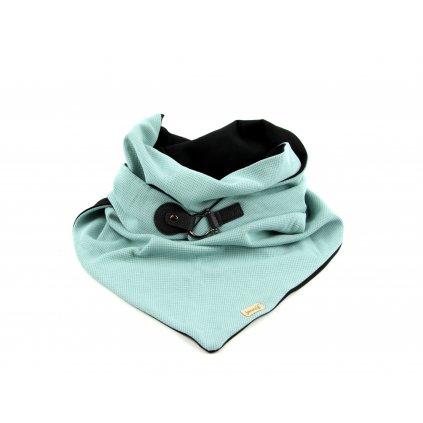 šátek se zapínáním Blackmint1