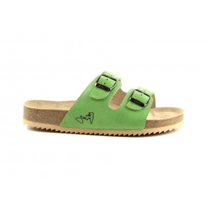 Pantofle CLASSIC zelené, 2002-PR2